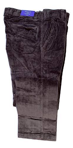 Corduroy - Pantaloni in Velluto a Coste da Uomo [DE 44-68] Grigio W50