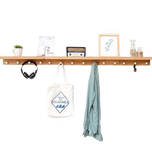 Entryway Key Hook Shelf, Hanger Achter Deur, Wandplank op Wandplank