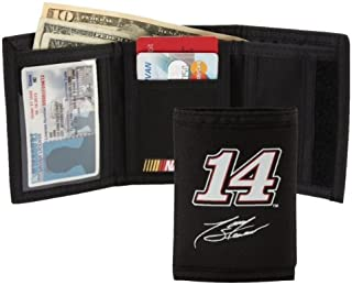 NASCAR Stewart Haas Racing Signature Wallet, Black