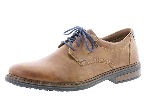 Rieker Hombre Zapatos de Cordones 17619, de Caballero Calzado de Negocios,cordón Derby,Zapatos...