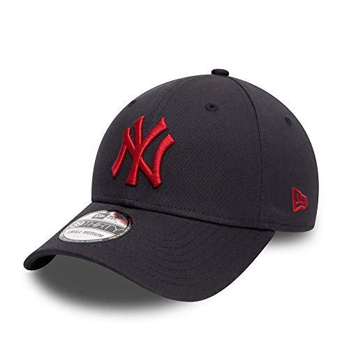 New Era York Yankees League Essential 39thirty Stretch Cap S-M (6 3/8-7 1/4)