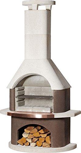 54cm San Remo Masonry Charcoal Barbecue