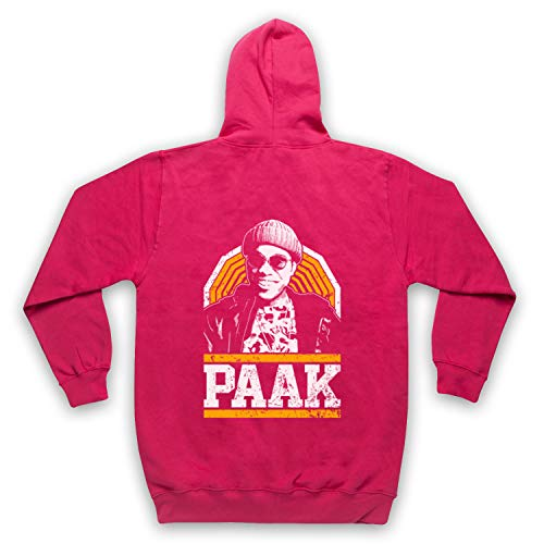 The Guns Of Brixton Anderson Paak Tribute Sweat a Capuche avec Un Fermeture Eclair des Adultes, Rose, Small