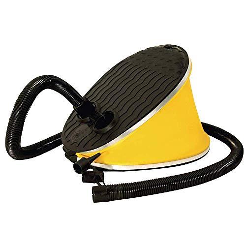 YUHT 3PCS Pedal Air Pump, leistungsstarke Balgpumpe für schnelles Aufpumpen und Entleeren Fitnessball, Luftkissen, Schlauchboot, aufblasbares Spielzeug Schwimmring Aufblasbares Sofa