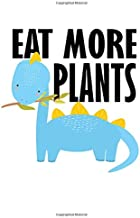 Notebook: Dino Kids Vegetarian Vegan School Gift 120 Pages, A4 (About 8,5X11 Inches / Letter), Blank, Diary