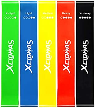 5-Set XCLOHAS Mini Loop Resistance Bands