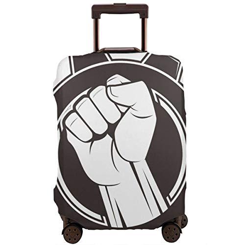 Schutzhülle für Koffer Fist Icon Travel Suitcase Protector L