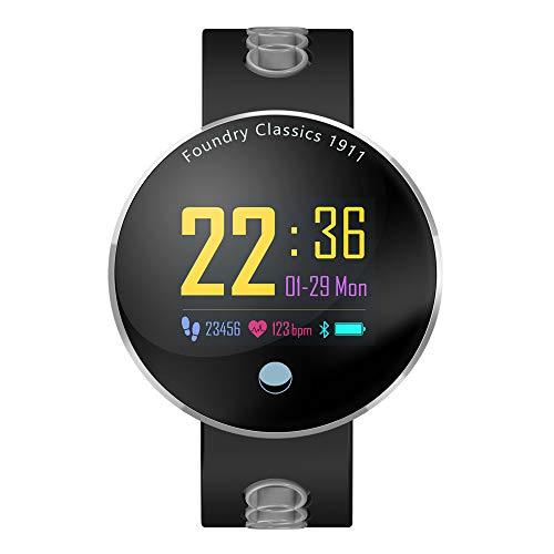 Lbyhning Fitness Armband, Bluetooth-Smart-Sportuhr, Fitness-Tracker, mit Pulsmesser, wasserdichte Schrittzähler-Unterstützungsinformations-Push für Android Ios