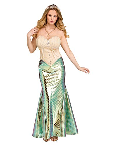 Horror-Shop Disfraz de Sirena de Lujo L