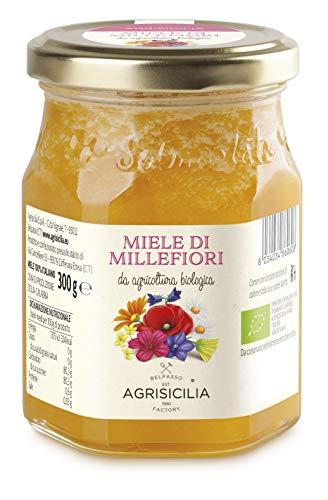 Agrisicilia Miele Millefiori Da Agricoltura Biologica - 300 g