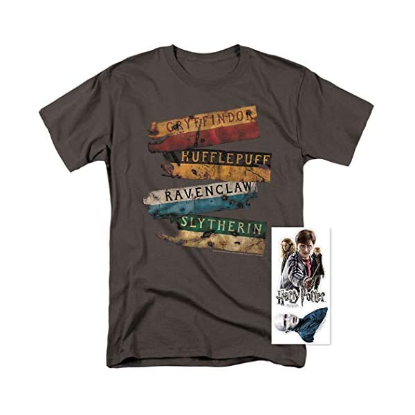Men's Distressed T Shirt & Stickers 4