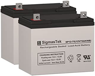 Permobil X850 Corpus Wheelchair Deep Cycle Battery 12V 75AH Replacement