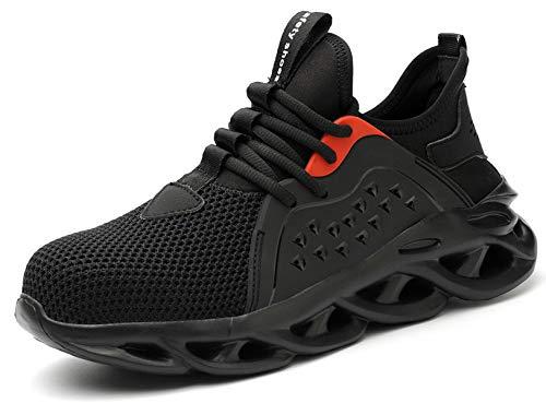 SUADEX 靴 安全 靴 作業 おしゃれ あんぜん靴 工事現場 靴 黒 スニ一カ一 軽量 作業靴 通気性 鋼先芯 耐摩耗 防刺 耐滑ソール アウトドア スニーカー ワーク シューズ セーフティーシューズ