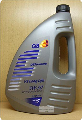 Q8 Formula VX Long Life 5W-30, 4Liter Ultrahochleistungs-Motoröl