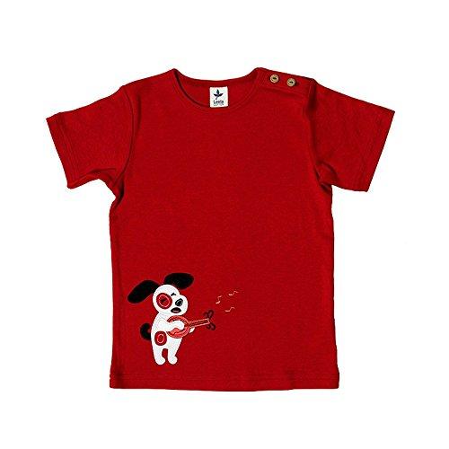 Leela Cotton - T-shirt - Bébé (fille) 0 à 24 mois - Rouge - 3 mois