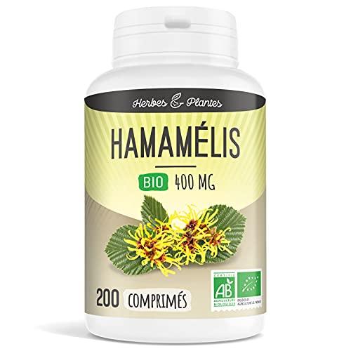 Herbes Et Plantes Hamamélis Bio 200 Comprimés 400 mg