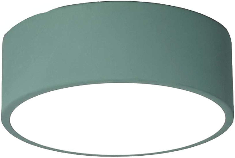 QZz Home Deckenleuchte LED Deckenleuchte Korridor Ganglichter (Farbe   Grün)