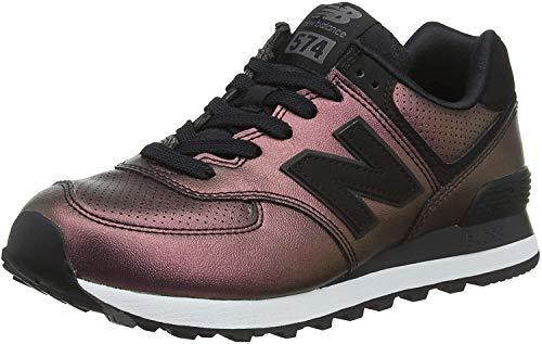 New Balance Damen 574v2 Sneaker, Schwarz (Black KSB), 37 EU