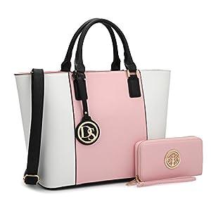 Fashion Shopping DASEIN Women's Handbags Purses Large Tote Shoulder Bag Top Handle Satchel Bag for Work