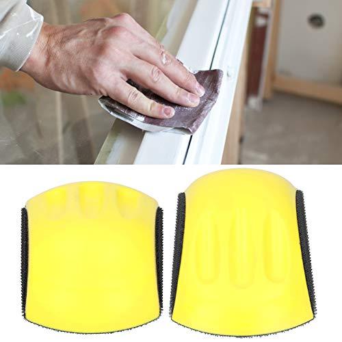 Almohadilla de lijado manual, lijado manual en forma de ratón para carpintería, hogar y carrocería de automóviles(6inch 150mm)