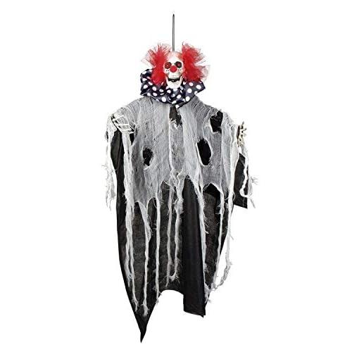Boland 73017 Statuetta Horror Clown 70 cm, Unisex - Adulto, Multicolore