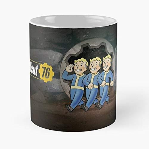 Fallout 76 4 3 Bethesda Valve Pc Videogames - Best 11 oz Kaffee-Becher - Tasse Kaffee Motive