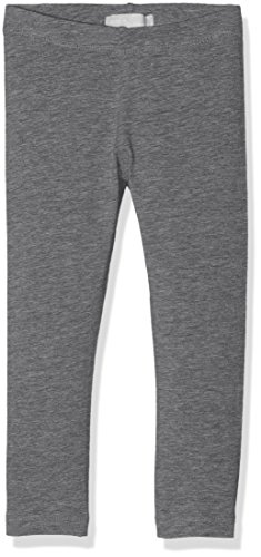 NAME IT Mädchen NITVIVIAN Legging NMT NOOS Hose, Grau (Dark Grey Melange), 134