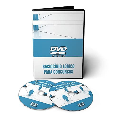 Curso de Raciocínio Lógico para Concursos em 02 DVDs Videoaula