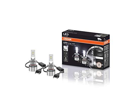 OSRAM LEDriving HLT, ≜H7, lámparas LED para faros delanteros para camiones de 24 V, solo uso todoterreno, no ECE, caja plegable (2 lámparas)