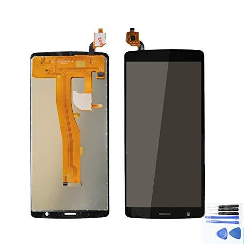 XCYY Pantalla LCD de repuesto para Blackview A20 de 5,5 pulgadas, accesorios de repuesto para teléfono móvil con herramientas de repuesto de pantalla LCD (color: negro)