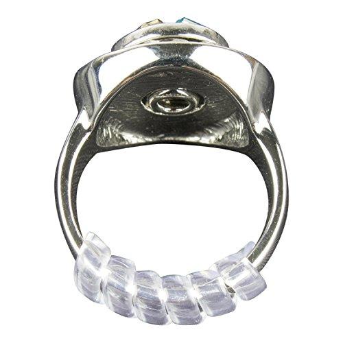 GWHOLE Lot de 4 Ajusteurs Invisibles pour Bagues Ring Sizer