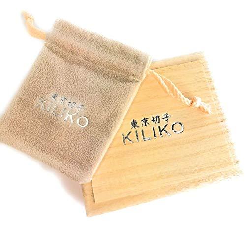 KILIKO(キリコ)『東京切子コンパクトミラー星姫ブルーFuturisticSilver』