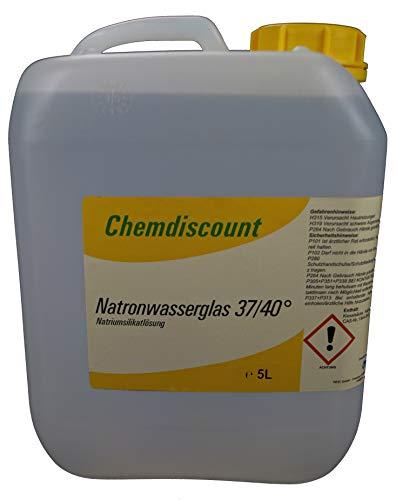 5 Liter (ca. 6,75kg) Natronwasserglas, versandkostenfrei!