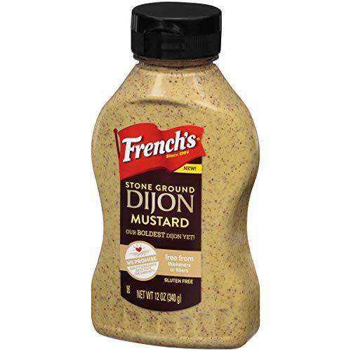 French's Stone Ground Dijon Mustard, 12 oz