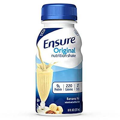 Ensure Original Nutrition Shake with 9g of Protein, Meal Replacement Shakes, 8 Fl Oz, 24Count by Ensure Original