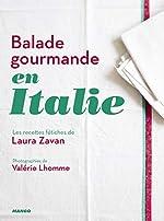 Balade gourmande en Italie de Laura Zavan