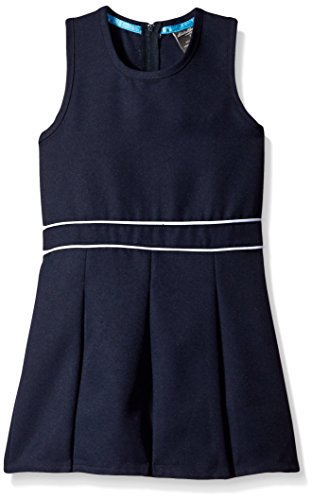 Eddie Bauer Girls' Dress Or Jumper (More Styles Available), Simple Navy, 14