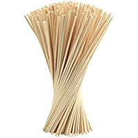 FEPITO 250 piezas Reed Diffuser Sticks Oil Aroma Diffuser Sticks Rattan Wood Ricks