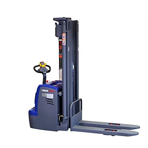 Apiladora eléctrica 4,5 m / 4500 mm - 1,5 t / 1500 kg para europalés