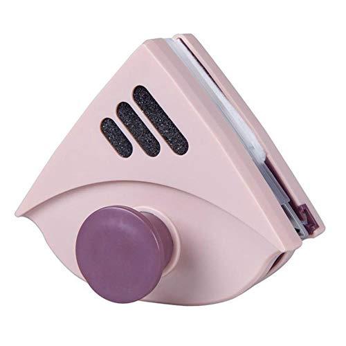 Dubbelzijdig magnetisch Vensterglasreiniger Magneten Veegoppervlak Reinigingsgereedschap Home Ruitenwisser Ruitenreiniger Sterk Verstelbaar, roze