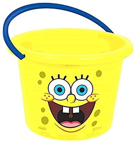 amscan Spongebob Party Jumbo Favour Bucket, Plastic, 9'