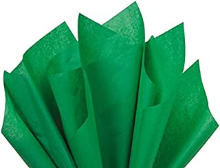 Festive Green Premium Quality Gift wrap Paper A1 Bakery Supplies (Festive Green, 15x20)