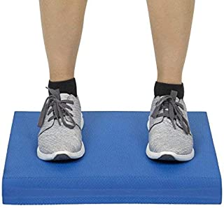 Vive Balance Pad - Foam Large Yoga Mat Trainer for Physical Therapy, Stability Workout, Knee and Ankle Exercise, Strength Training, Rehab - Chair Cushion for Adults, Kids, and Travel