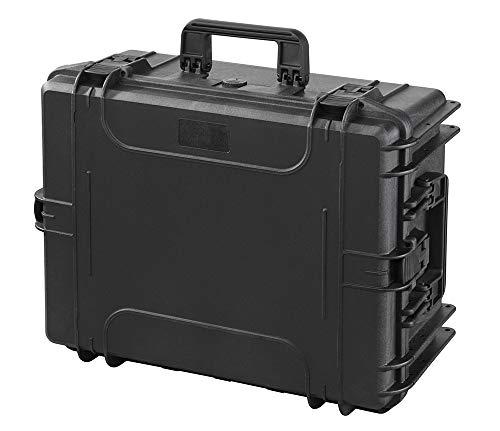 Preisvergleich Produktbild Perel HC540SH245TR Hartschalen-Trolley-604 x 473 x 283 mm-mit Noppenschaum,  schwarz