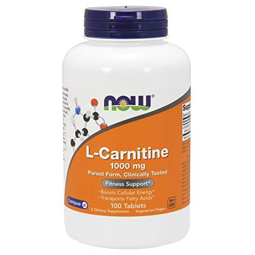 『L-カルニチン(1000mg) 100錠 海外直送品』のトップ画像
