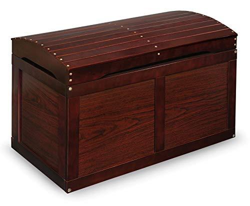Badger Basket Hardwood Barrel Top Toy Chest