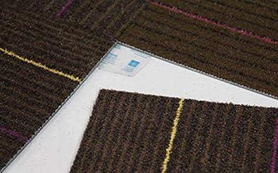 Flor Tactiles Carpet Tile Adhesive Connectors 40 Pack