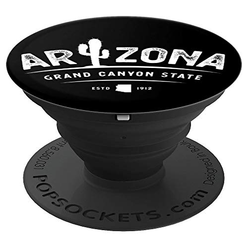 Love Arizona State The Grand Canyon State Vintage PopSockets Grip and Stand for Phones and Tablets