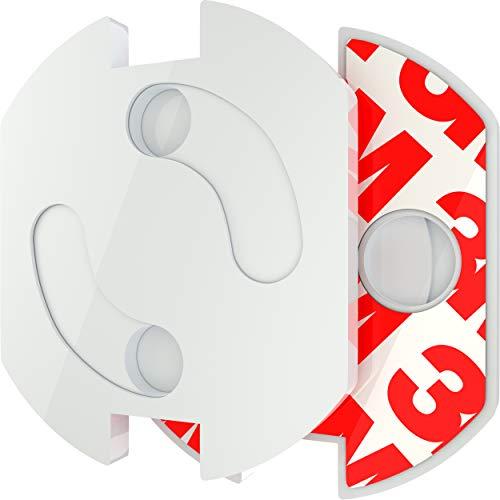 Steckdosen Kindersicherung von Safetyfy™ 20x set, Kindersicherheit Steckdosenschutz, Steckdosensicherung, Steckdosen Kindersicherung zum kleben