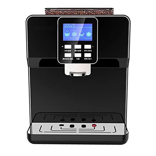 BTASS Kaffeevollautomat,19 Bar 1250W Automatische Reinigung 2-Tassen-Funktion Milchsystem Mit Cappucinoplus Düse Kaffeemaschine Schwarz